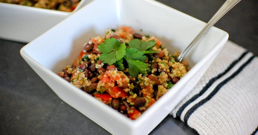 Black Bean & Tomato Quinoa