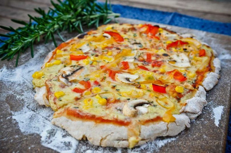 Vegan Gluten-Free Pizza