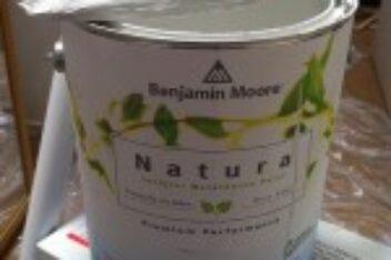 Greener Every Week – Use No-VOC Paint