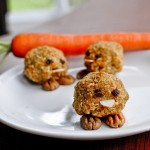 Carrot Cake Macaroon Chickies