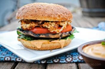 Vegan Portabello Burger