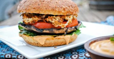 Vegan Portabello Burger