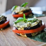 Vegan Eggplant Stacks