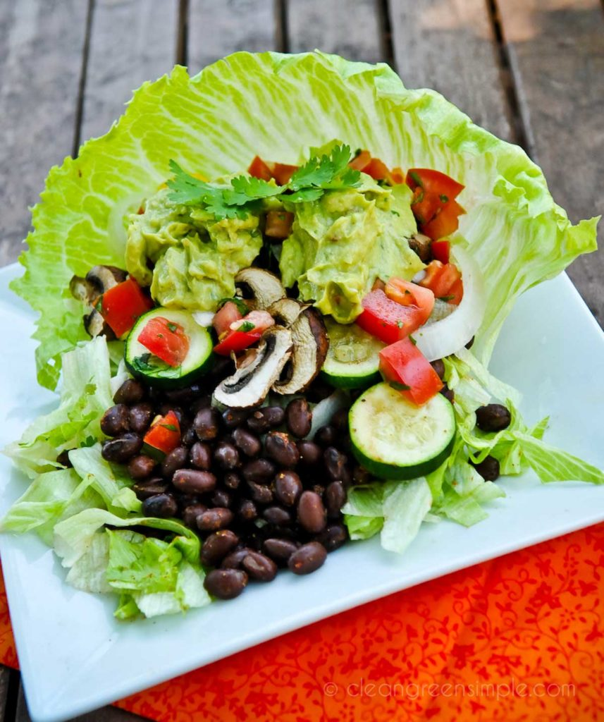 Simple Vegan Taco Salad