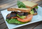 vegan bacon BLT