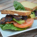 vegan gluten free BLT