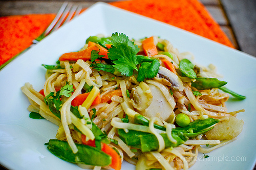quick and easy vegan pad thai  clean green simple