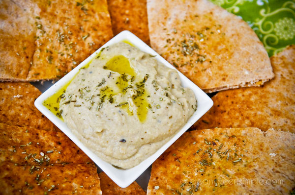 Baba Ganoush Dip with PIta