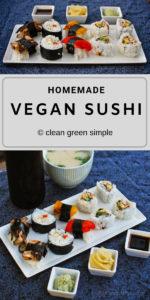 Homemade Vegan Sushi Recipe