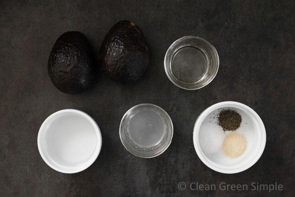 ingedients for jackfruit tacos