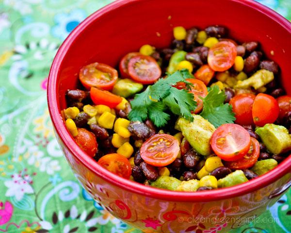 Vegan Black Bean & Corn Salad
