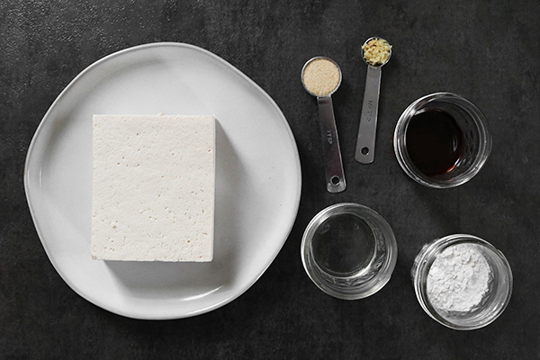 baked tofu ingredients
