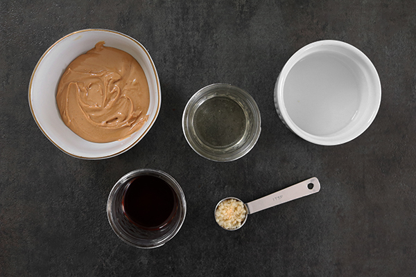 Savory Peanut Sauce ingredients
