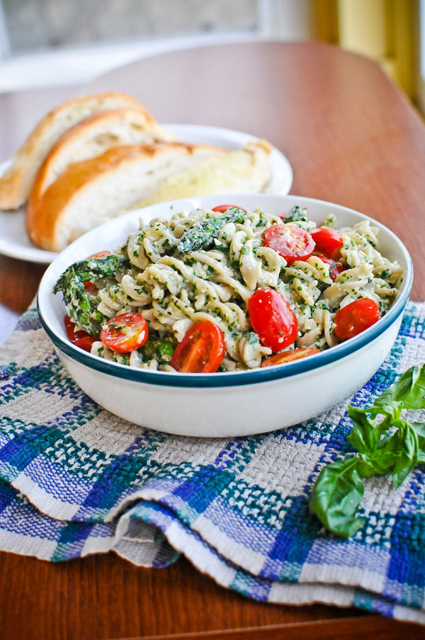 Easy Vegan Pesto