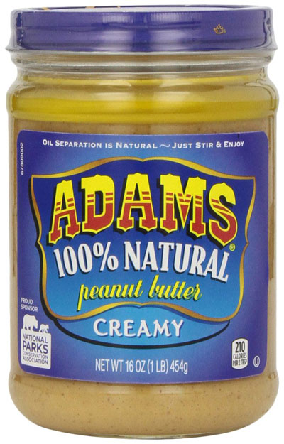 Adam's Natural Peanut Butter