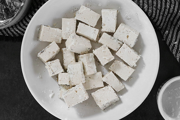 toss tofu