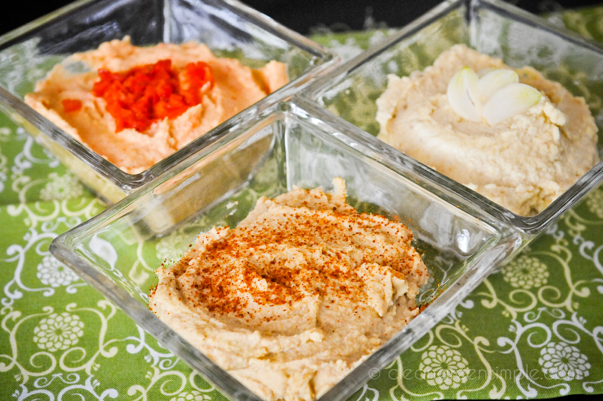 3 Kinds of Hummus