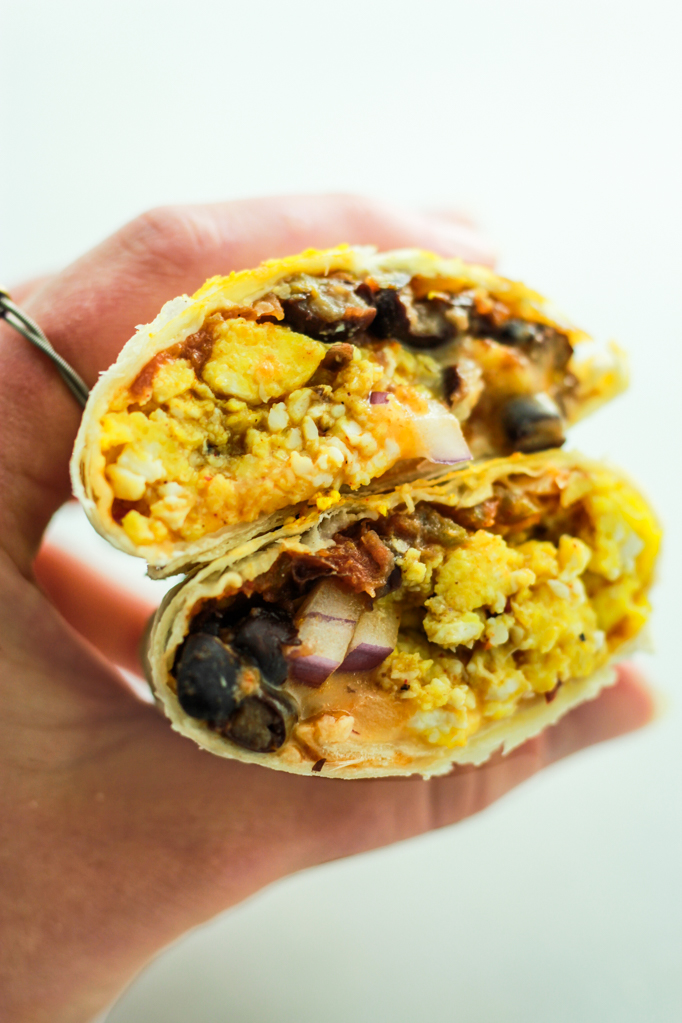 Meal prep idea: Freezer Friendly Breakfast Burritos