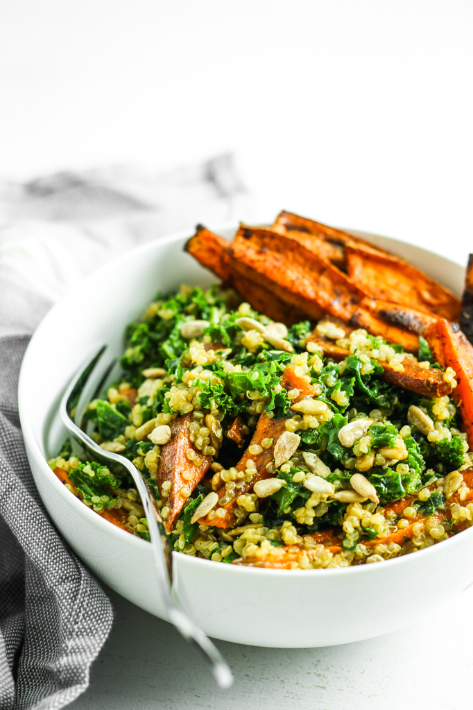 Meal prep idea: Sweet Potato Quinoa Salad