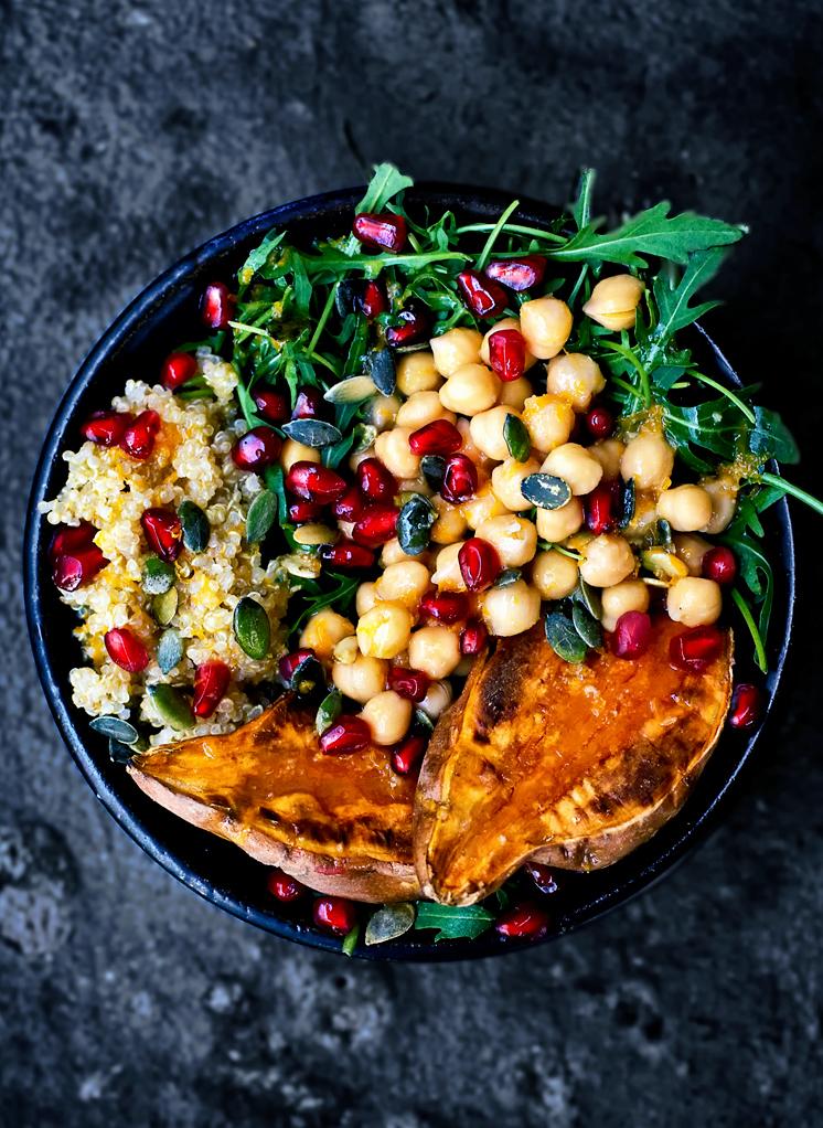 Meal prep idea: Vegan Morrocan Lunch Bowl