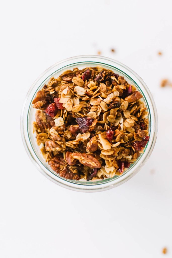 Meal prep idea: Gingerbread Granola