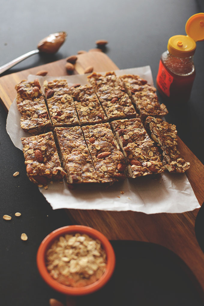 Camping food idea: 5 Ingredient granola bars