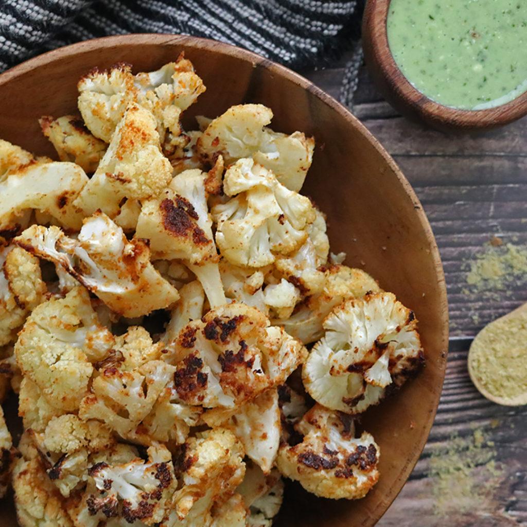 Vegan Roasted Cauliflower