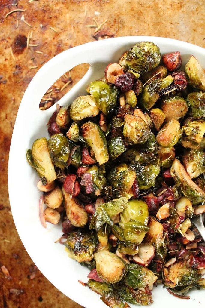 Vegan Thanksgiving Sides: Brussels Sprouts