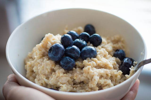 plant-based protein sources: oatmeal