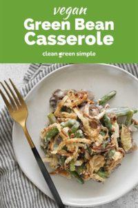 Vegan Green Bean Casserole