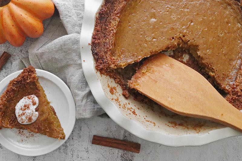Vegan Thanksgiving Desserts: Pumpkin Pie