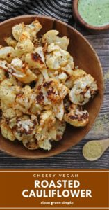 Vegan Roasted Cauliflower