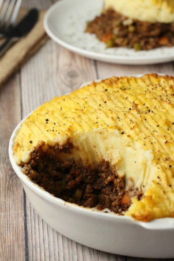 Vegan Thanksgiving Main Dishes: Shepherd's Pie