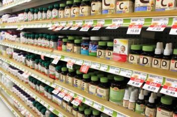 Vitamins & Supplements Shopping