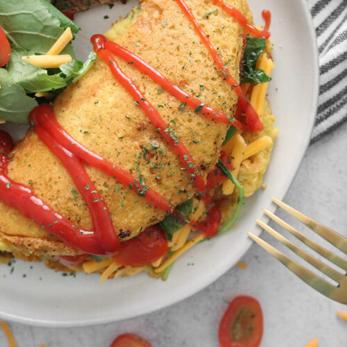 Vegan Chickpea Omelette
