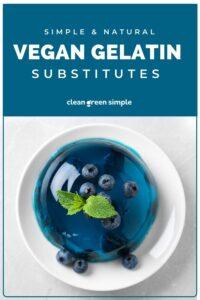 Vegan Gelatin Substitute