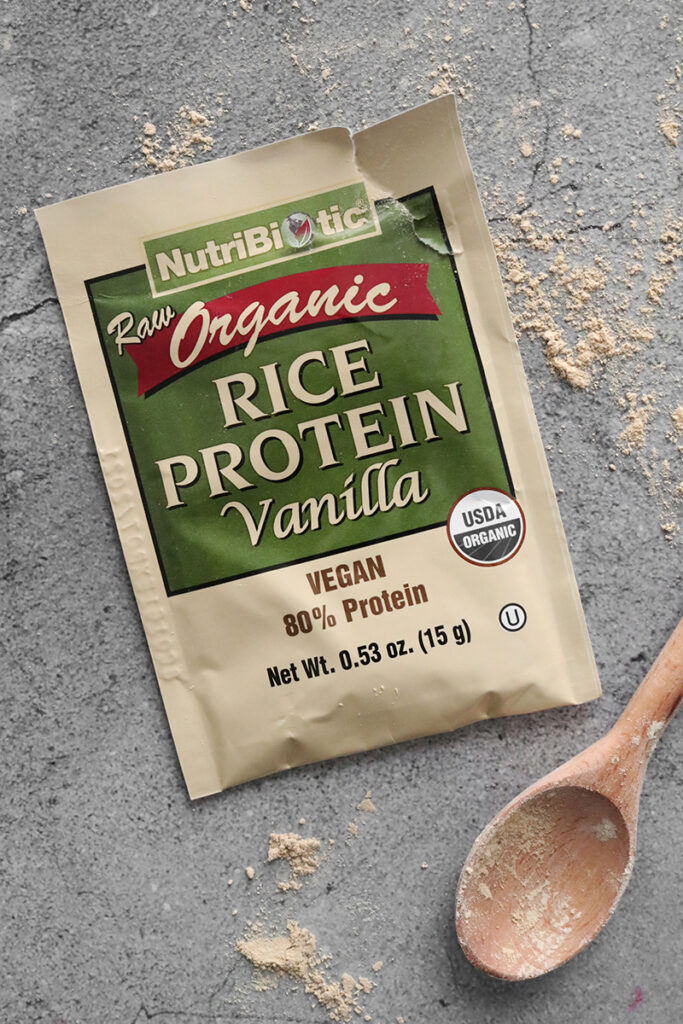 Nutribiotic Raw Organic Rice Protein