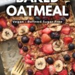 High Protein Baked Oatmeal