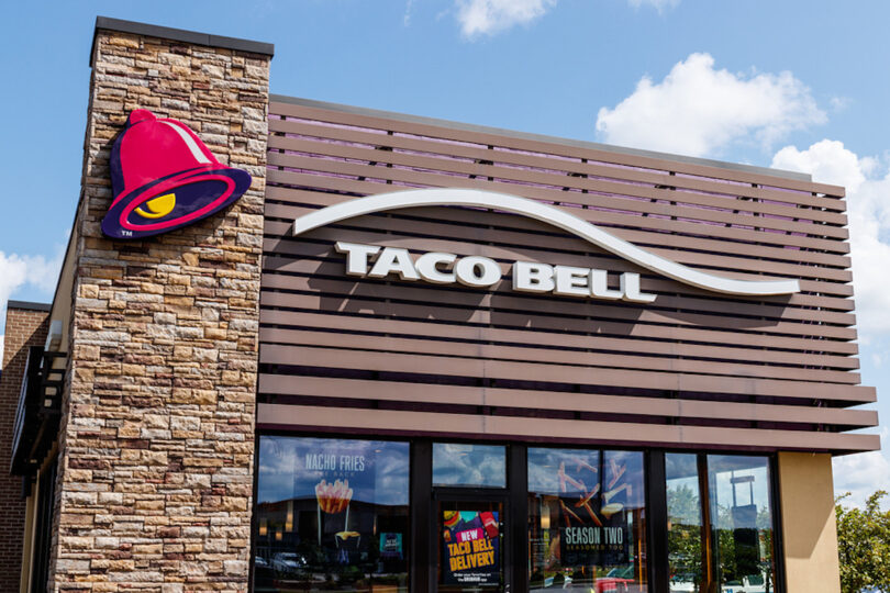 Taco Bell Westfield - Circa July 2018: Retail Fast Food Location