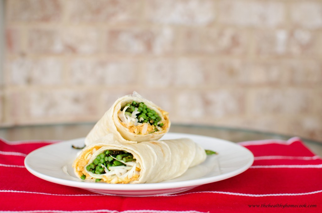Grilled Asparagus Wrap