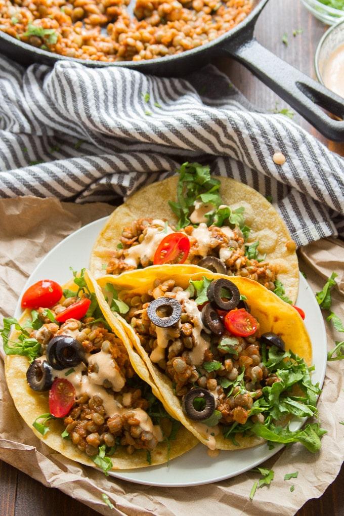 Easy Lentil Tacos