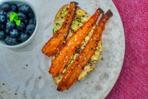 """Why the Internet Is Going Crazy Over Tabitha Brown's Carrot """"Bacon"""" Recipe"""