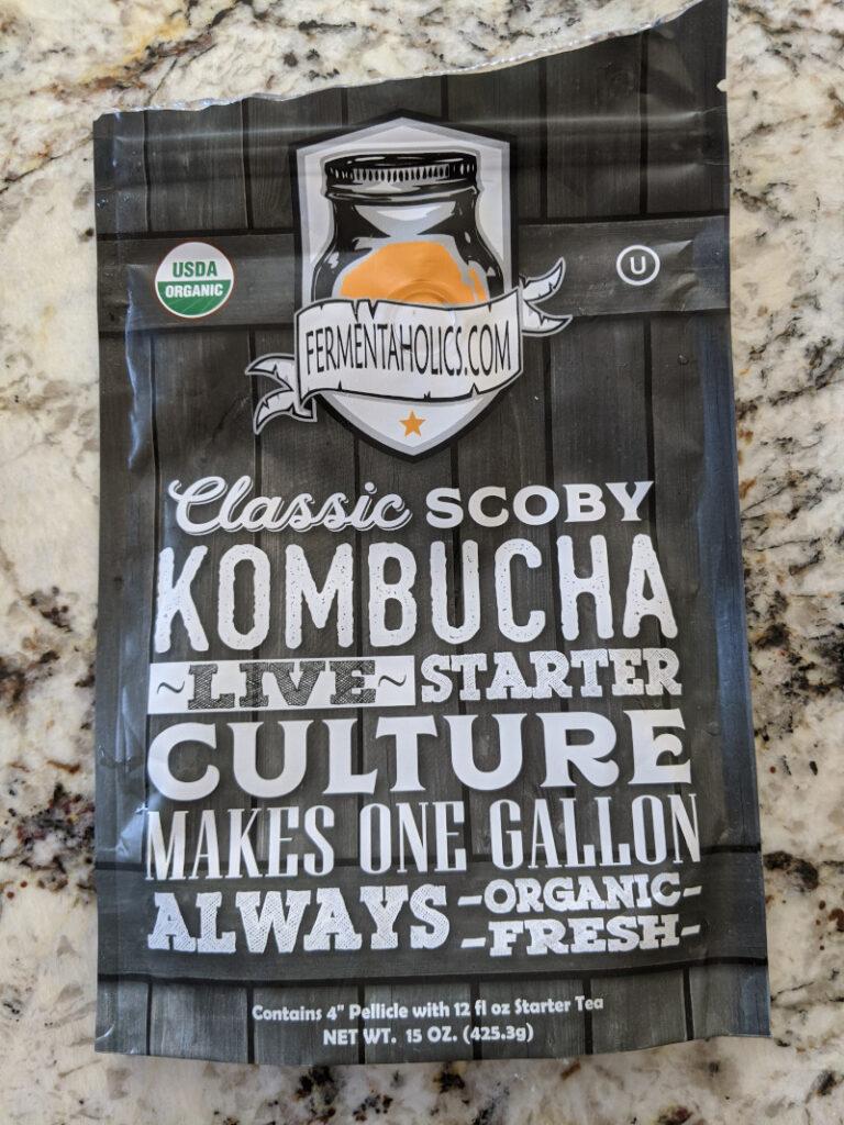 Fermentaholics Classic SCOBY: Live Starter Kombucha Culture
