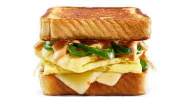 JUST Egg Spicy Breakfast Sandwich