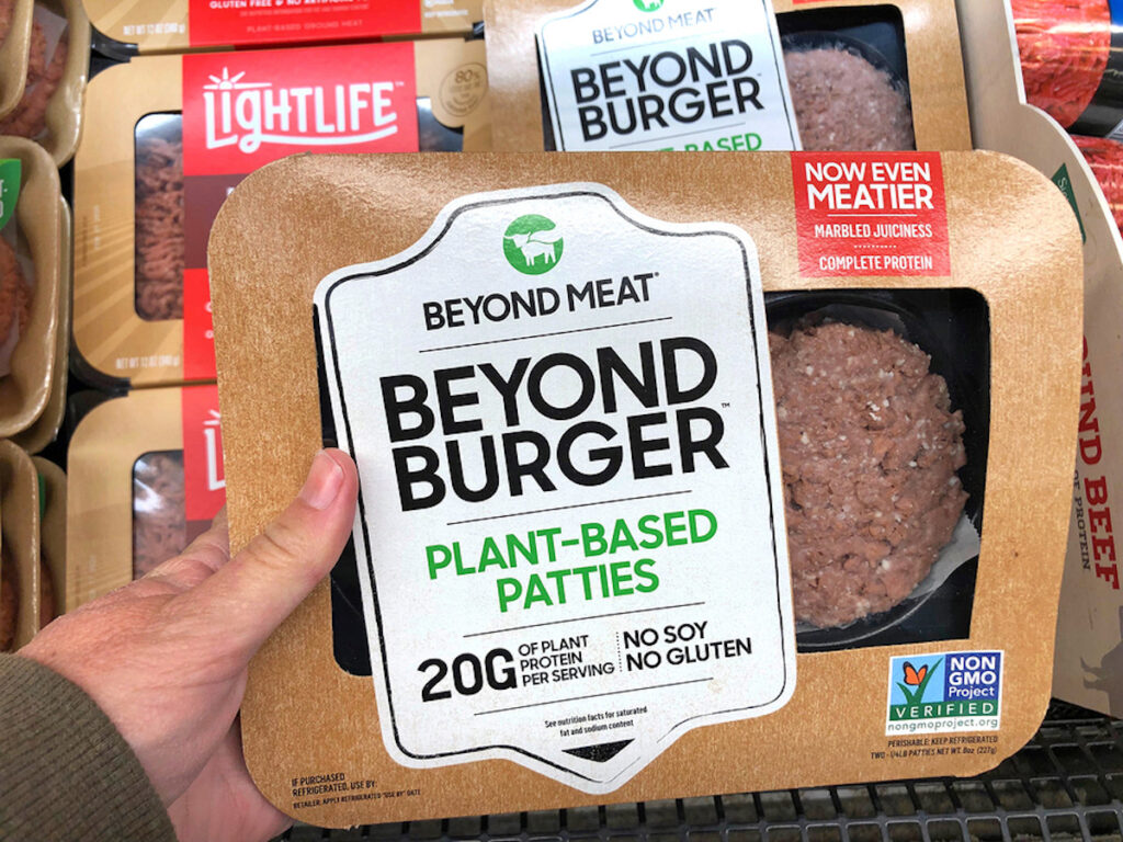 Beyond Burger Plant Based Patties from Beyond Meat