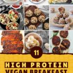 high protein vegan breakfast recipe ideas