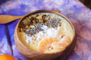 Mandarin Orange Smoothie Bowl