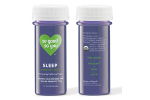 Trouble Falling Asleep? Try This Probiotic Sleep Shot from So Good So You