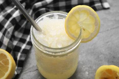 Easy Homemade Frozen Lemonade