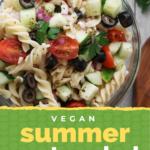 Vegan Summer Pasta Salad
